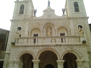 The Wedding Church at Cana in Galilee