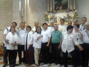 Picture, picture after the Mass