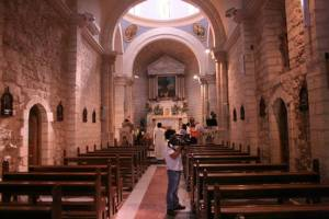 Inside the Wedding Church