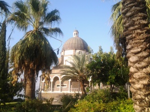 Dome of the Church of the Mount of Beatitudes
