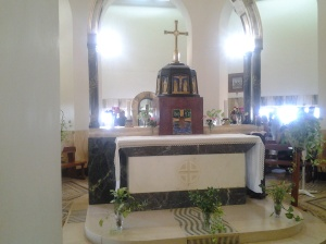 The Altar - Church of the Mount of Beatitudes