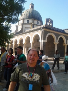 Me at the Church of Mount of Beatitudes