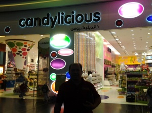 Me at candalicious-Dubai Mall