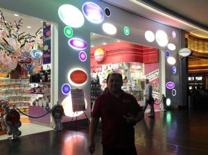 Me at candalicious-Dubai Mall