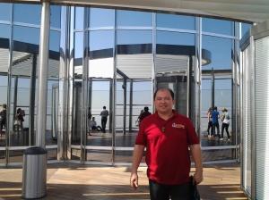 845 Me at the top of Borj Khalifa-Dubai