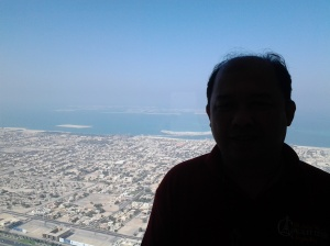 846 Me at the top of Borj Khalifa-Dubai