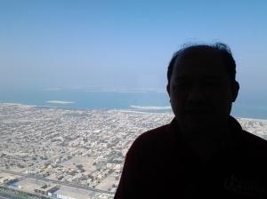 846 Me at the top of Borj Khalifa-Dubai
