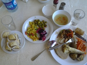 my lunch at crystal restaurant - bethlehem