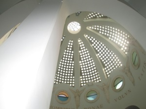 Inside the Shepherd's field Chapel