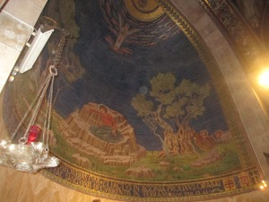 Inside the Basilica of the Lord's Agony -Gethsemane
