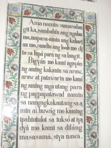 Pater Noster in Tagalog