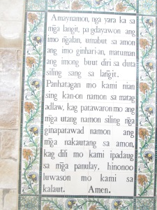 Pater Noster in Ilonggo