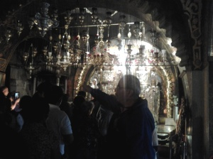 Queuing to the Holy Sepulchre