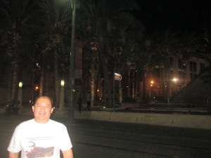 Me at Gimmick at Jaffa St. Jerusalem