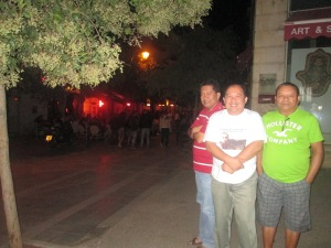 Before we went to Commodore Hotel after Gimmick at Jaffa St. Jerusalem
