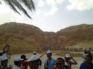 The Group at the Qumran Valley