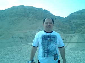 Me at the Qumran Park