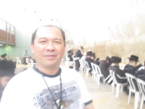 Me at the Synagogue of the Western (Wailing) Wall
