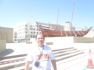 Outside Dubai Museum