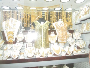 At the Market - Gold section Dubai